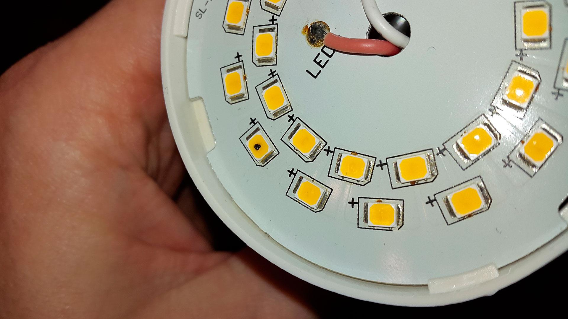 Как отремонтировать светодиодный светильник своими руками 404